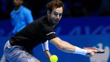 Andy Murray lost out at Rafael Nadal at the O2.