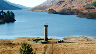 Glenfinnan monument National Trust for Scotland Jacobites history quality news image  Public domain from Wikipedia