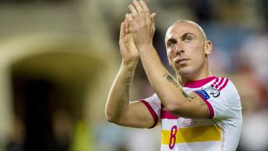 Internationalist: Scott Brown will continue to represent Scotland.