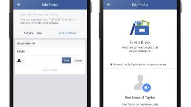 Users will be able to control how much of their ex they see on the social network.