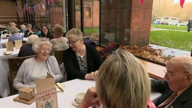 Kelvingrove: Tea party for special pensioners