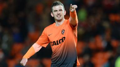 Second spell: Gavin Gunning first played for Dundee United between 2011-2014.