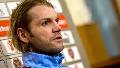 Prudent: Robbie Neilson is mindful that Hearts must build slowly to compete