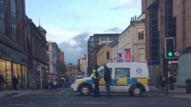 Pedestrian: Man knocked down in Glasgow street