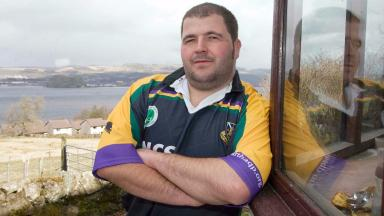Robert Harvey: Member of Cartha Queen's Park Rugby Club in Glasgow's south side since he was 14 years old.