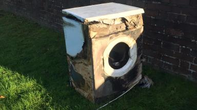 Tumble dryer: Customers warned not to leave appliances unattended.