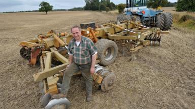 Andrew Stoddart: Tenant farmer facing eviction.
