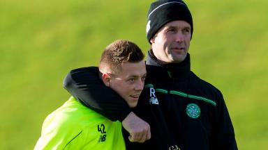 Starter: Ronny Deila puts his faith in Callum McGregor