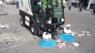 Street cleaning: 45 jobs are to go at Dundee City Council.