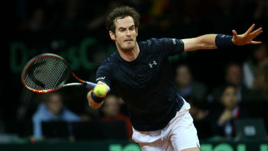 Andy Murray, Davis Cup, Ruben Bemelmans, Great Britain, Belgium