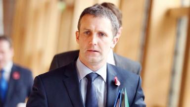 Scottish Justice Secretary Michael Matheson.