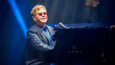Elton John: Returning to Edinburgh in 2016.