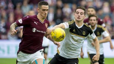 Hearts will face Premiership side Aberdeen in the Scottish Cup fourth round