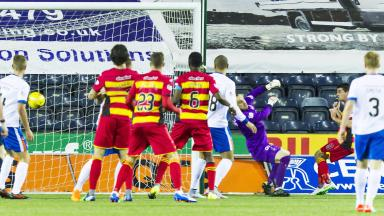 Kilmarnock slumped to tenth place after a 5-2 home defeat to Partick Thistle