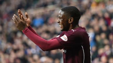 Arnaud Djoum, Hearts, November 2015