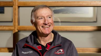 Unfinished business: Alan Solomons wants to see through his project at Edinburgh.