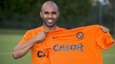 New signing: Florent Sinama Pongolle is unveiled to the media.