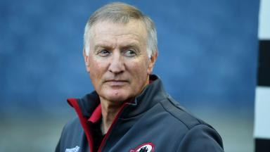 Deal: Alan Solomons signed a new contract at Edinburgh.