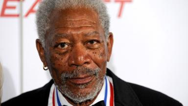 Morgan Freeman and his pilot Jimmy Hobson were not injured during the landing.