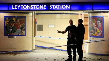 Officers from Walthamstow Forest have been praised for their 'quick response'.