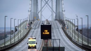 Reopening: Around 70,000 vehicles cross the Forth Road Bridge every day.