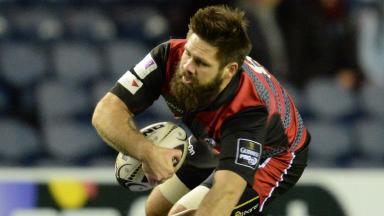 Score: Cornell du Preez crossed for a try but Edinburgh were undone by a sloppy start