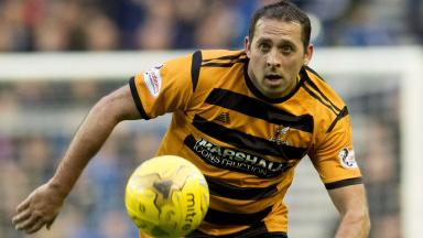 Michael Chopra in action for Alloa