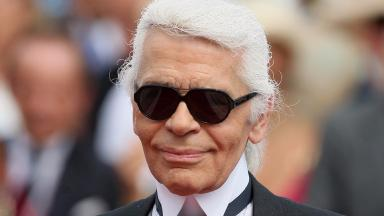 Karl Lagerfeld: Head of Chanel fashion house.