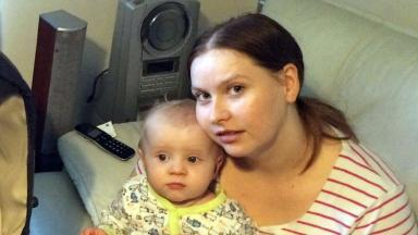 'Horrible': Hit-and-run driver struck Stacie Lothian and baby Kaylan.