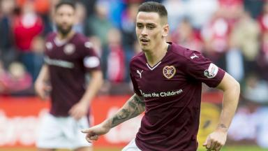 Summer 2018: Jamie Walker has pledged his future to Hearts.