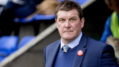 Happy: Tommy Wright is satisfied with his current squad.