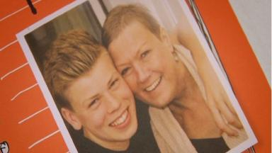 Jamie McIntosh: Teenager wrote book about mother's battle with cancer.
