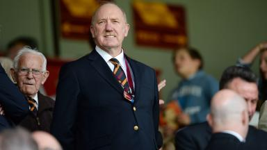 Motherwell owner Les Hutchison was unhappy with the SPFL.