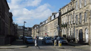 Northumberland Street: Highest house prices in Scotland.