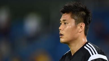 Green light: Eiji Kawashima is expected to arrive next week.