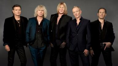 Def Leppard on the new album and the anniversary of Steve Clark backstage at the Hydro, news image, uploaded December 11 2015