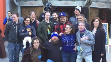 Star Wars: Fans set to wed ahead of movie launch.