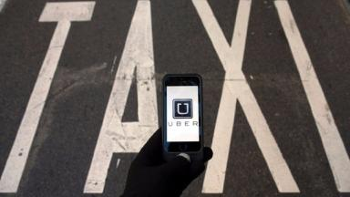 The woman used an Uber taxi after calls for an ambulance went unanswered