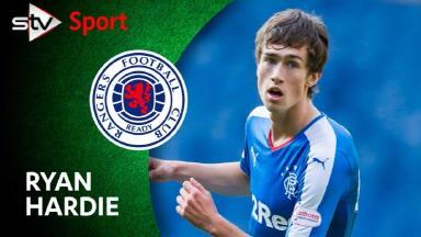 Ryan Hardie is aiming to make a big impact with Rangers under Mark Warburton.