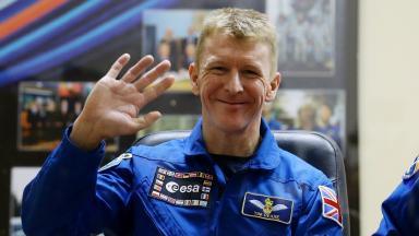 New Year: British astronaut Tim Peake to lead Hogmanay celebration.