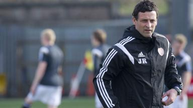 New boss: Jack Ross' first game in charge will be against his former club St Mirren on Saturday.
