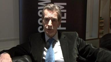Honour: William McIlvanney died on December 5 aged 79.