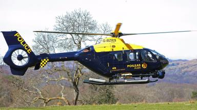 Police helicopter police scotland quality news image (helicopter G-BZRS) uploaded December 16 2015