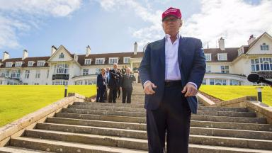Donald Trump's comments are reported to have put Turnberry's chances of hosting The Open in jeoprody