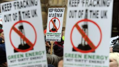 Fracking: Campaigners say unconventional gas extraction is harmful to the environment.