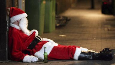 Revellers: Extra police called in across Scotland for Black Friday.