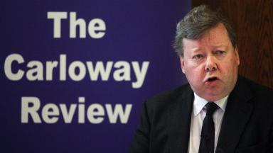 Lord Carloway: Appointed Scotland's top judge.