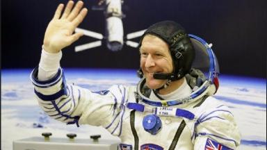 Tim Peake went to the International Space Station this week