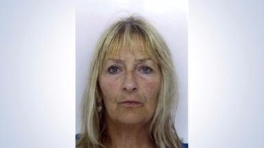 Search: Police launched a hunt for Katherine MacLeod on Saturday.