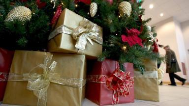 File photo of Christmas presents